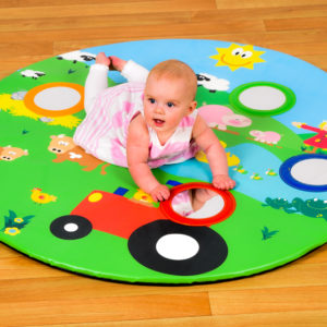 N3052 Baby farm MIRROR MAT