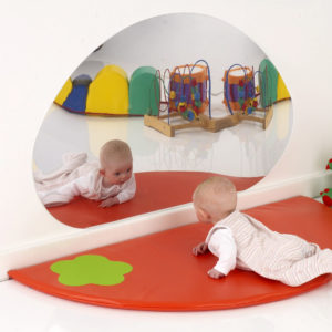 Nursery Mirror & Mat Set (400 module) M3062