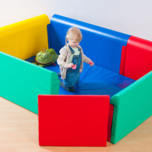 Soft Sided Soft Play Area & Den (2m x 1.4m)(600 module)