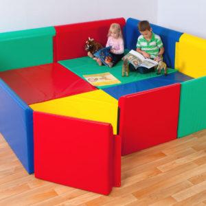 0 Soft Sided Den (Multi-colour & Themed Designs)(2.6m x 2.6m)