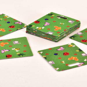 Sit Pads: Set of 16 Mini Beasts