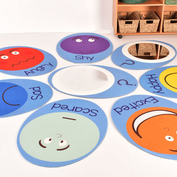 Emotions Mats set with Mirrors (Extra large) H1403