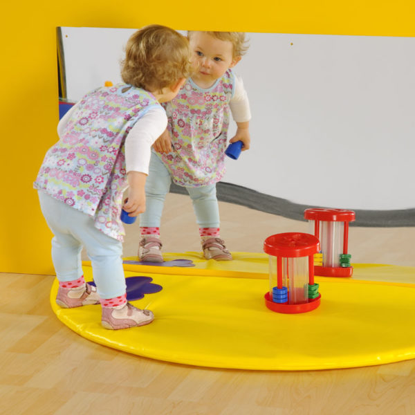 Mirror & Semi Circle Mat Set M3051