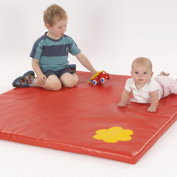 Activity Mat 1.2m sq x 40mm: Thick Softplay Mat H5034
