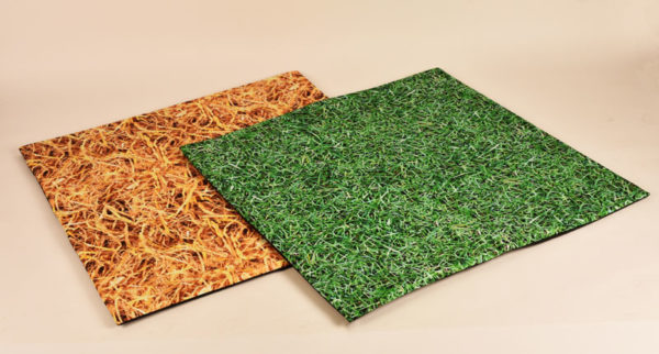 Nature Trail Padded Mats (for outdoors & indoors) H6501 Grass / Straw
