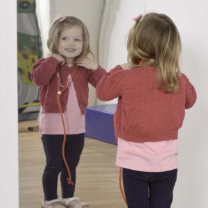 Children's Plastic Safety Mirror: 550 x 1100mm Rectangle M1003