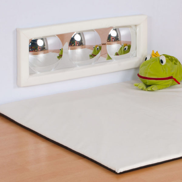 3 Bubble Sensory Mirror with soft frame M3009