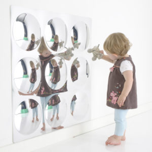 9 Bubbles Sensory Mirror M3011