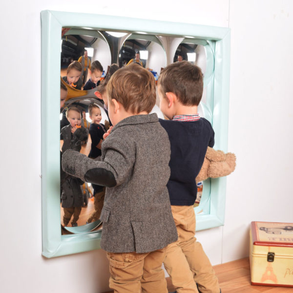 9 Bubbles Sensory Mirror with soft frame M3012W