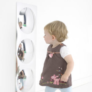 3 Bubbles Sensory Mirror M3015