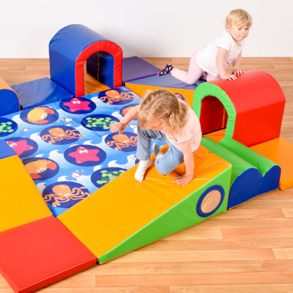 Exploring & Crawling soft play set (400 module) N1034