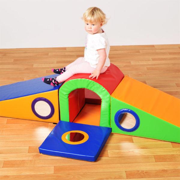 Toddler Tunnel Slider Soft Play Set (400 module) N1052