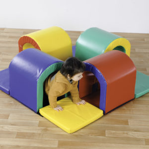 Toddler Tunnel Maze Soft Play Set (400 module) N1060