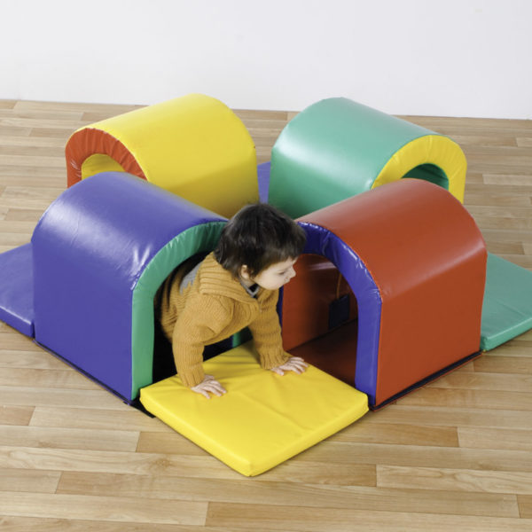 Toddler Tunnel Maze Soft Play Set (400 module) N1060