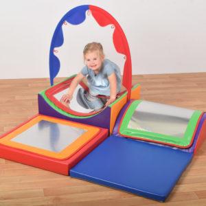 unfair Mirrors Soft Play Set (600 module) N1305