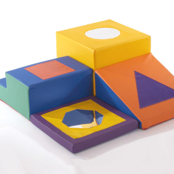 Mirror Trail Toddler Soft Play Set (400 module) P1030
