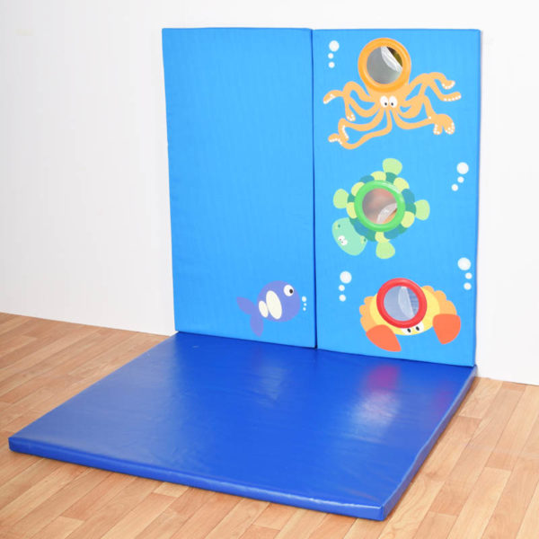Wall Pads Sealife shown with Floor Mats
