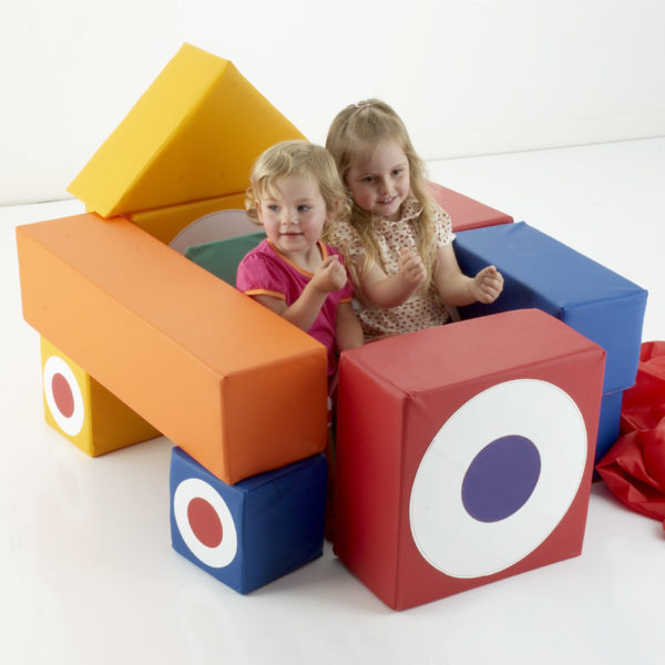 12 Piece Building Block Set (with carry sack) T1213W