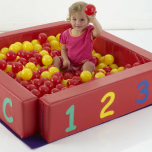 Toddler Soft Play Ball-pool (400 module) T1490
