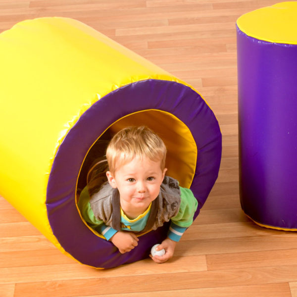 Tumbly Roly Soft Play Cylinder and Tube (600 module) T2021