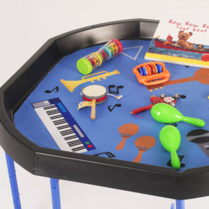 Tuff Tray Play Tray Double-sided Insert Exploring Music & Drama W1007