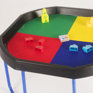 Tuff Tray Play Tray Double Sided Insert Exploring Colour & Fractions W1008