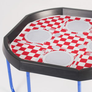 Tuff Tray Play Tray Double Sided Insert: Exploring Food and Money W1016