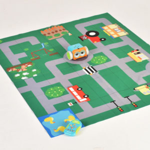 Little Town double sided mat for coding robot (200 mm) W2001