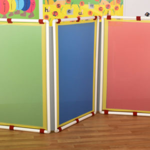Room divider set for Preschool Group